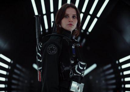 Felicity Jones as rebel soldier Jyn Erso