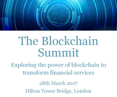 The Blockchain Summit, London, 2017