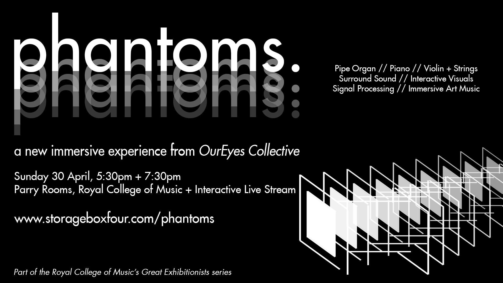Phantoms - An Immersive Multimedia Experience