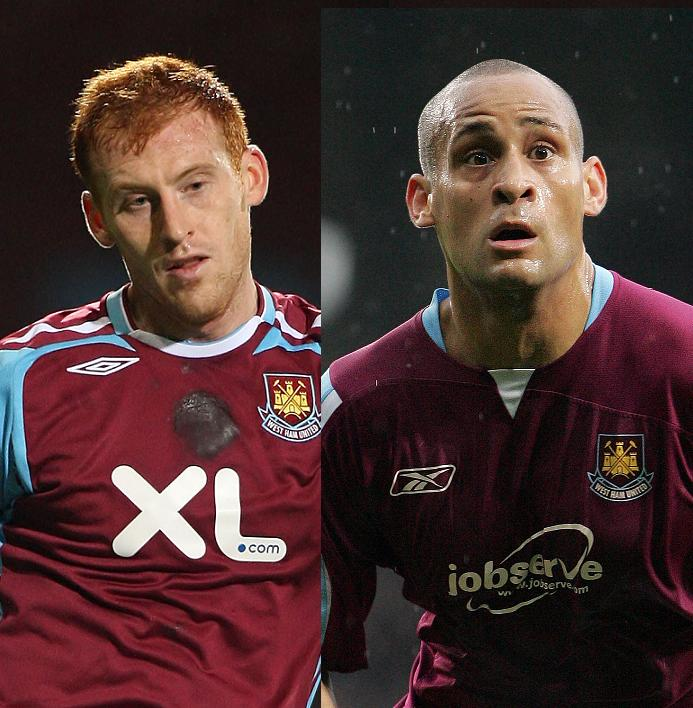 James Collins and Nigel Quashie
