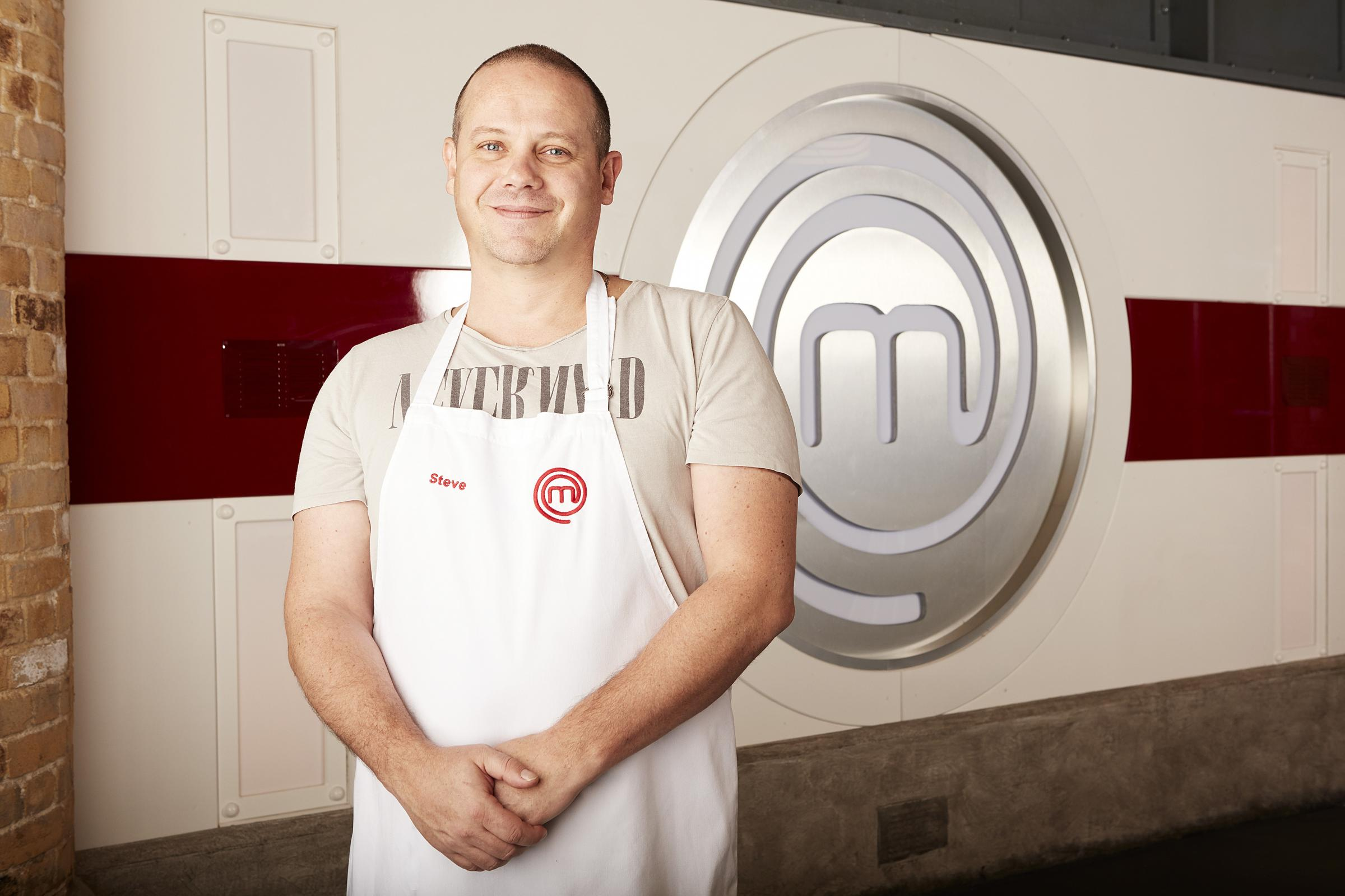 Steve, who lives in Woolwich, is a finalist on Masterchef