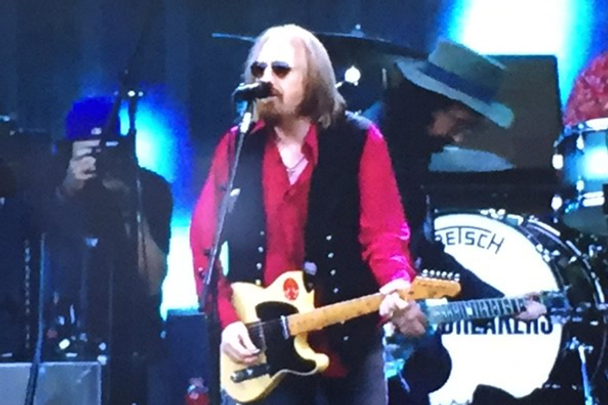 Tom Petty performing at Hyde Park during British Summer Time