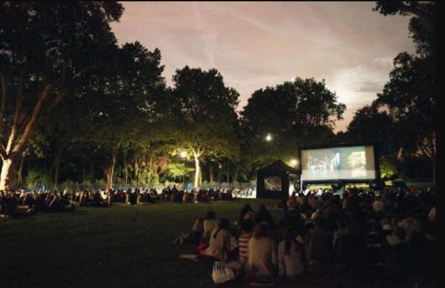 Tomorrow is your chance to enjoy great film and the great outdoors at the same time