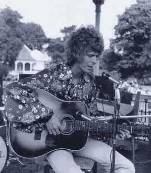 This Is Local London: David Bowie appeared at Bromley's first-ever open air concert in 1969