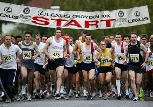 This Is Local London: The start of the Croydon 10K