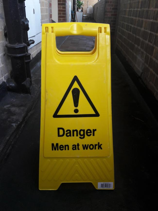 Caution: Proof of normalised sexism in all walks of life