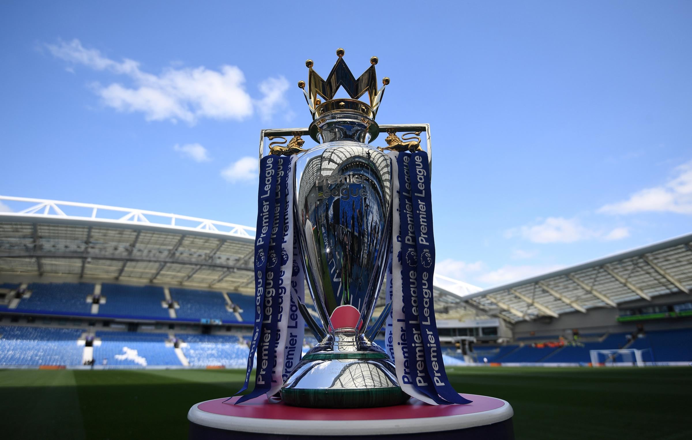 The Premier League trophy. Picture: Action Images
