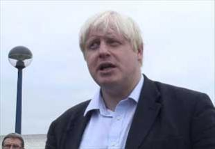 London mayor Boris Johnson offers sympathy to Indian terror victims