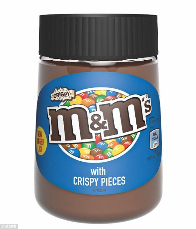 New M&M chocolate spread with crispy bits released