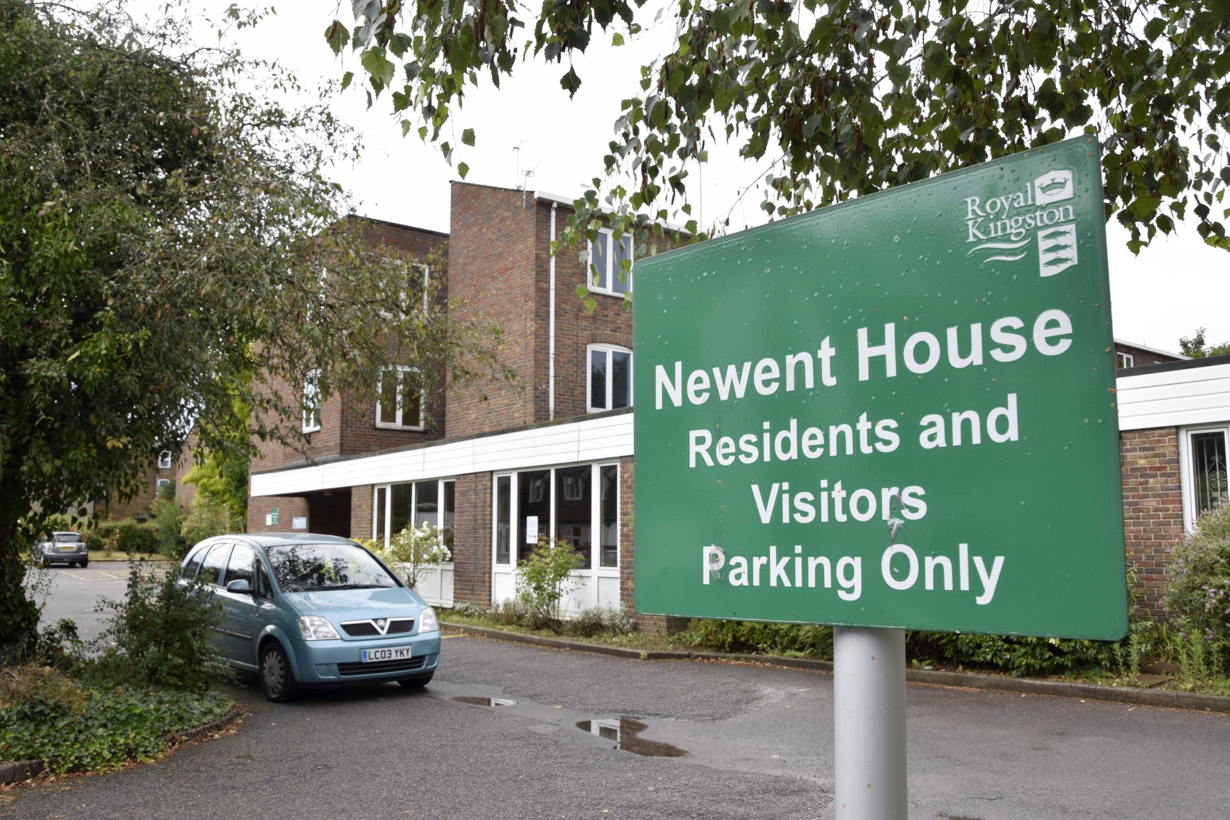 The home is hoped to open on the current Newent House site (pictured)
