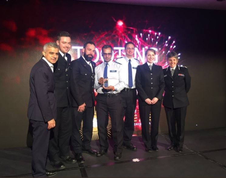Tooting Town Centre police unit at Met Excellence Awards