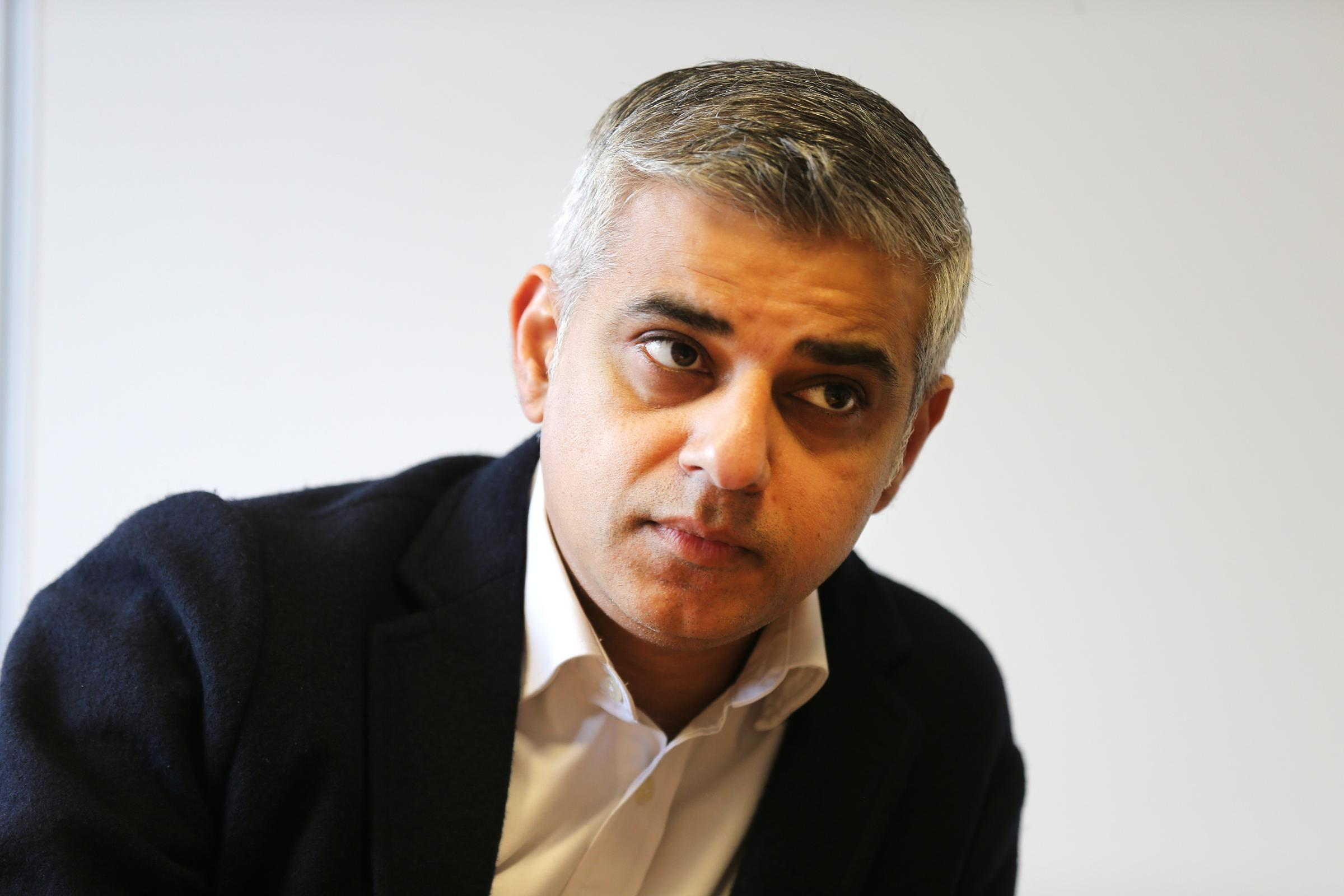 The Mayor of London, Sadiq Khan