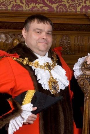 Mayor of Croydon Jonathan Driver