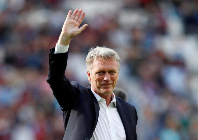 David Moyes is back at the Hammers helm. Picture: Action Images