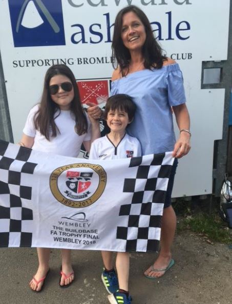 Sharon Mulheron is taking her three kids to the big game