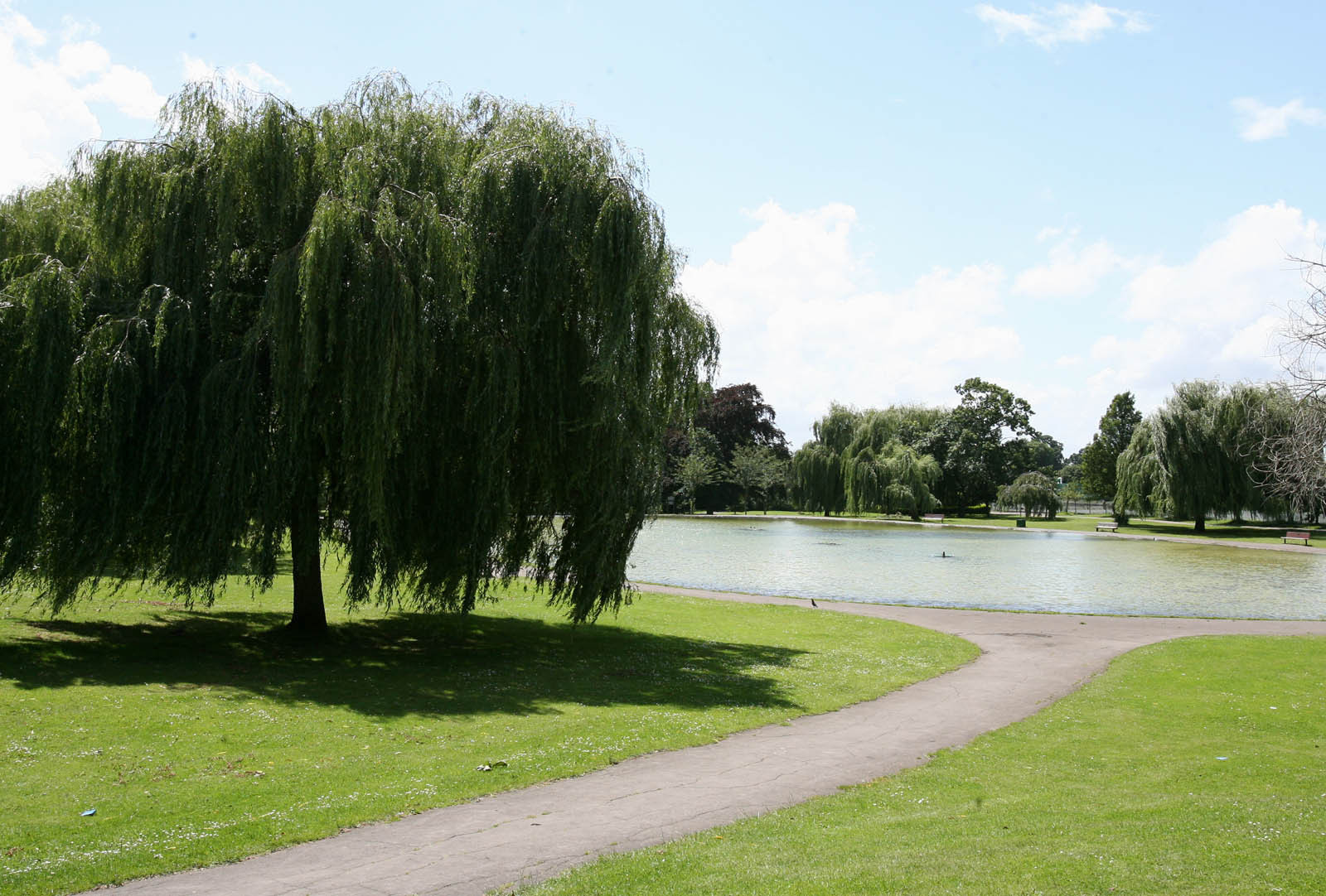 Broomfield Park in Palmers Green