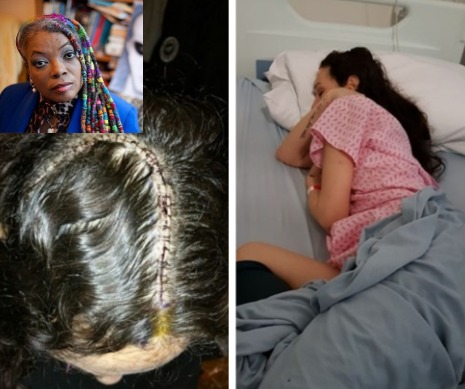 Spritual healer Stephany Cohen is helping Natasha Shannahan after her brain surgery