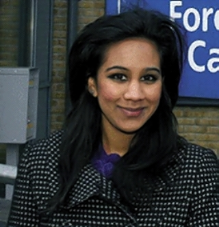 Sweet success: Labour's Rohini Simbodyal won her first council by-election aged just 21