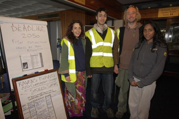 "This Is Local London: Squatters living on Raven's Ait consider themselves ""caretakers"""