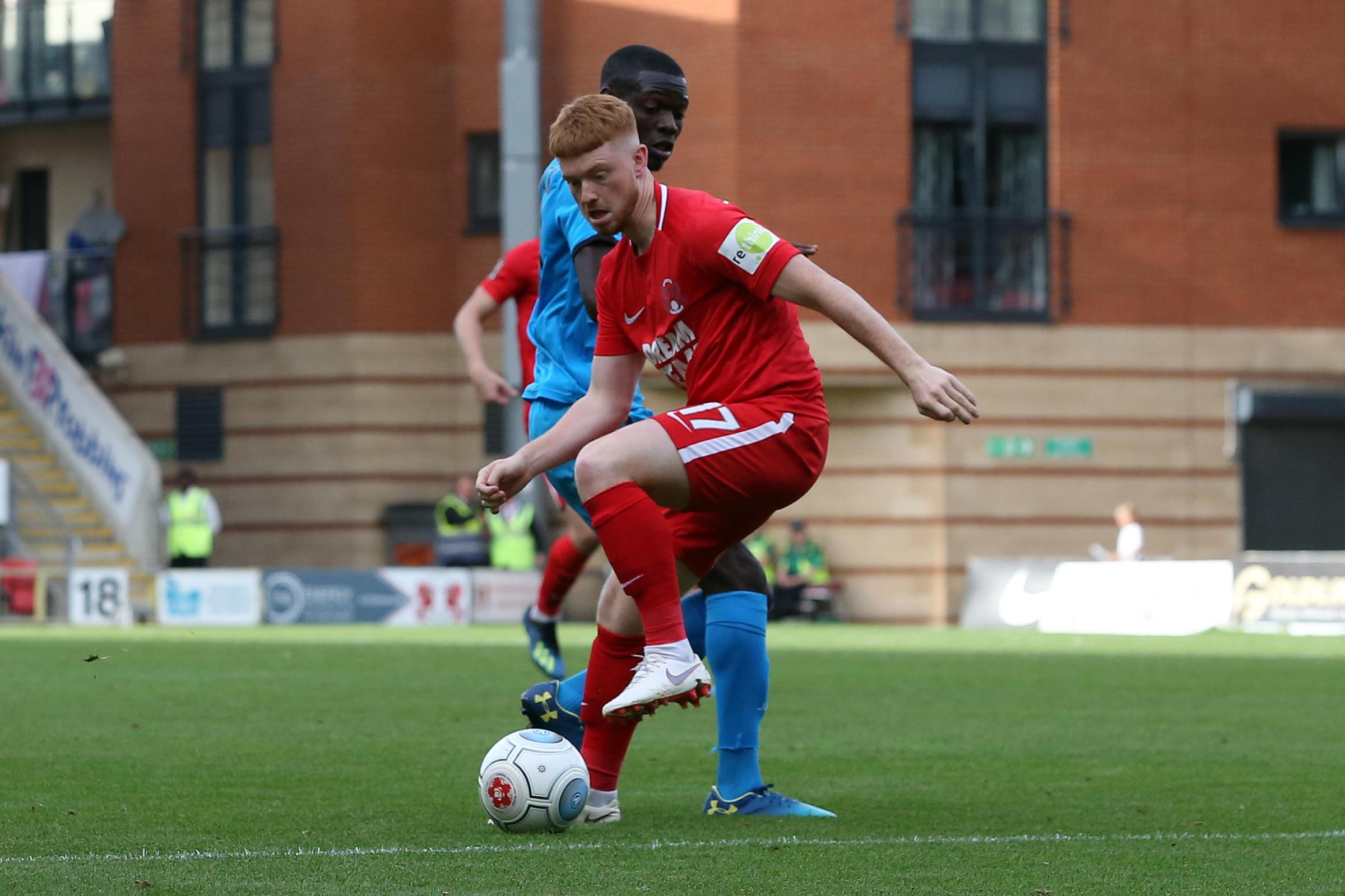 Dale Gorman believes Leyton Orient have some of the brightest young talents outside of the Football League. Picture: Simon O'Connor.