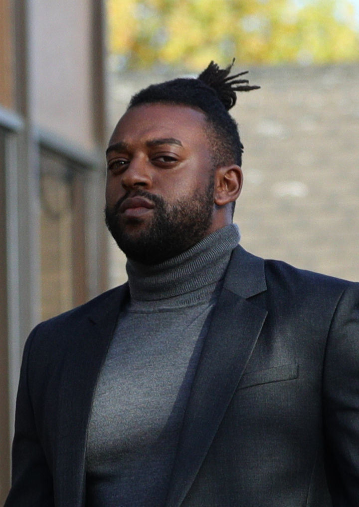 Former JLS star Oritse Williams, 31, arrives at Walsall Magistrates' Court. Picture: Aaron Cown/PA Wire