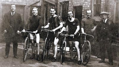 This Is Local London: Harry, second from left, with the local cycle club