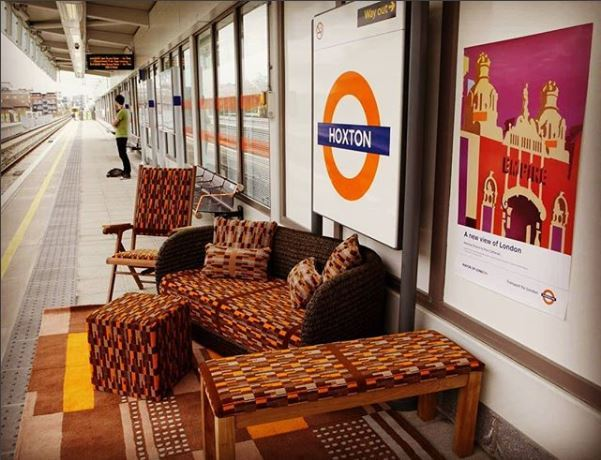 You can now buy London Overground patterned furniture | This Is Local London