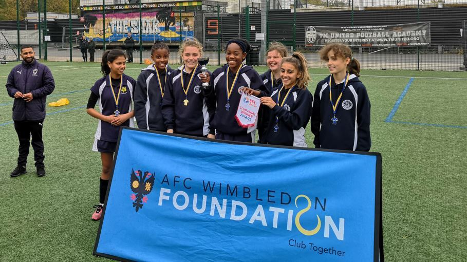 Ursuline High School have moved a step closer to Wembley