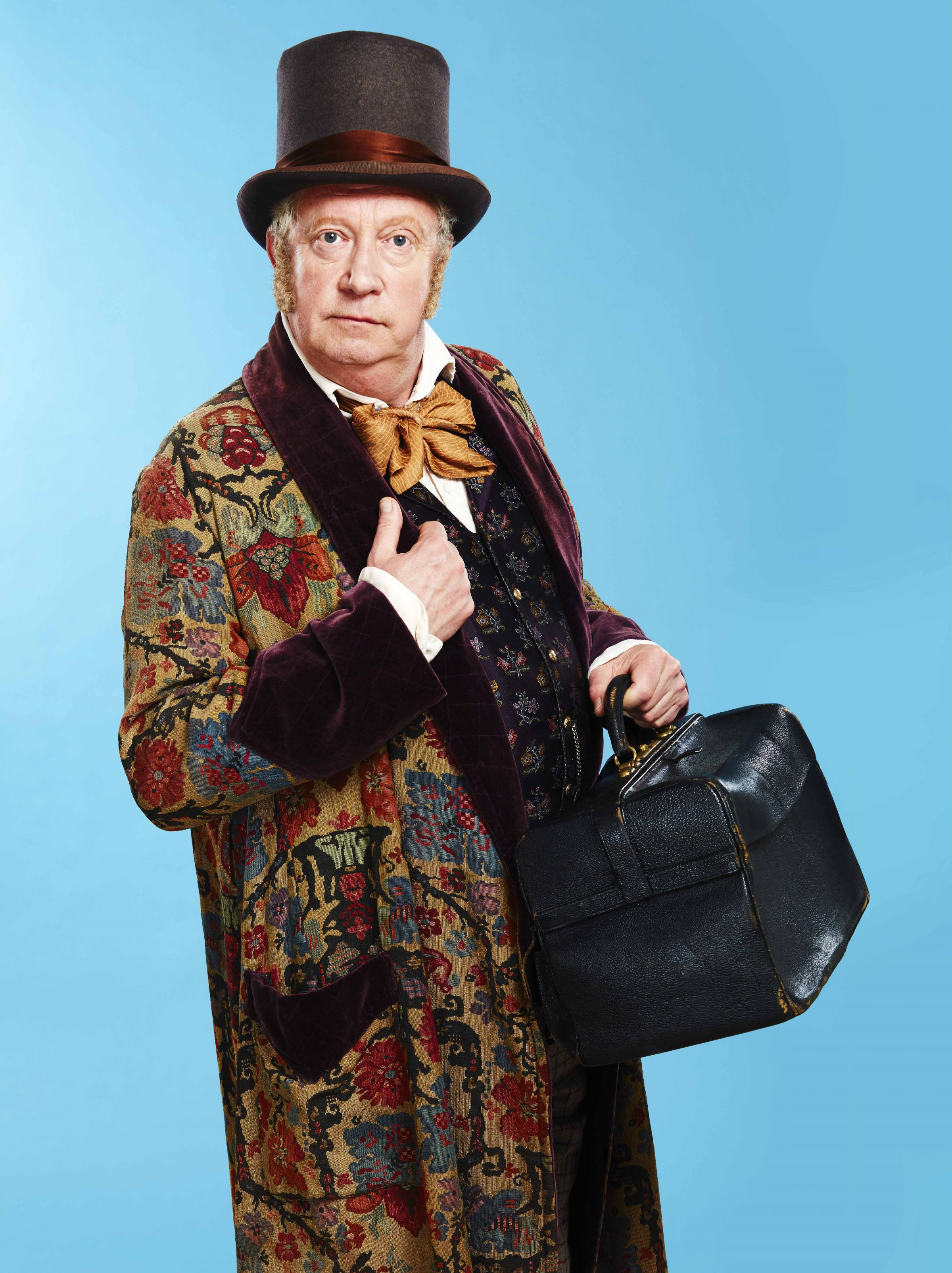 Mark Williams as Doctor Dolittle. Photo: Simon Turtle