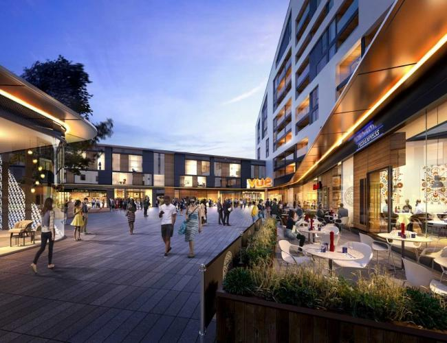 Pizza Express And Vue Cinema Open At St Marks Square In