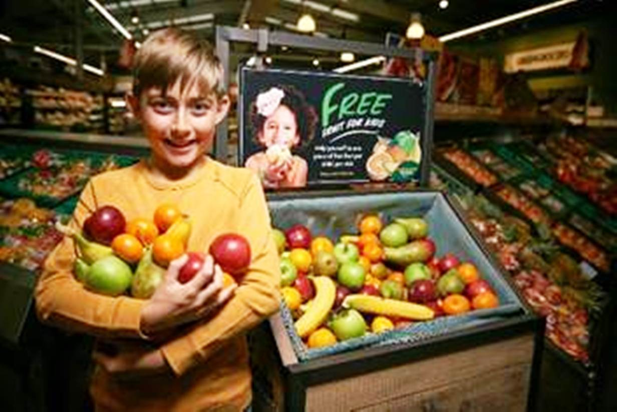 Five a day: youngsters can help themselves