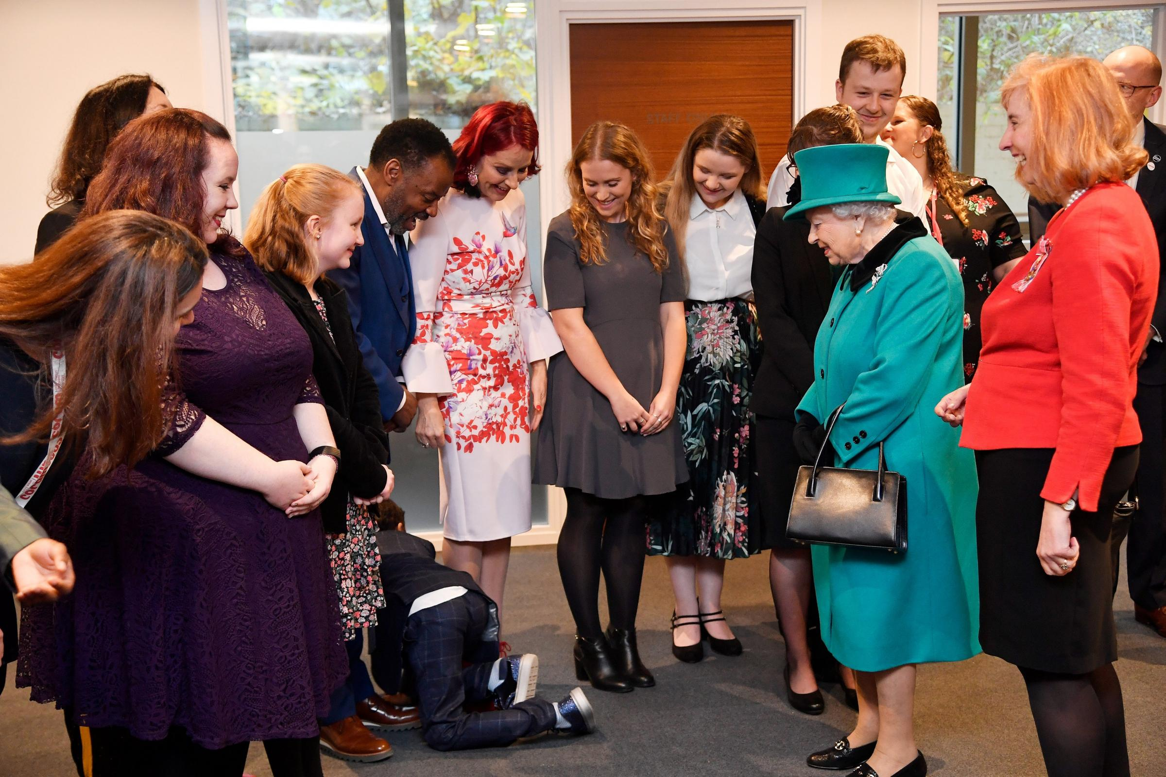 Royal visit to Coram