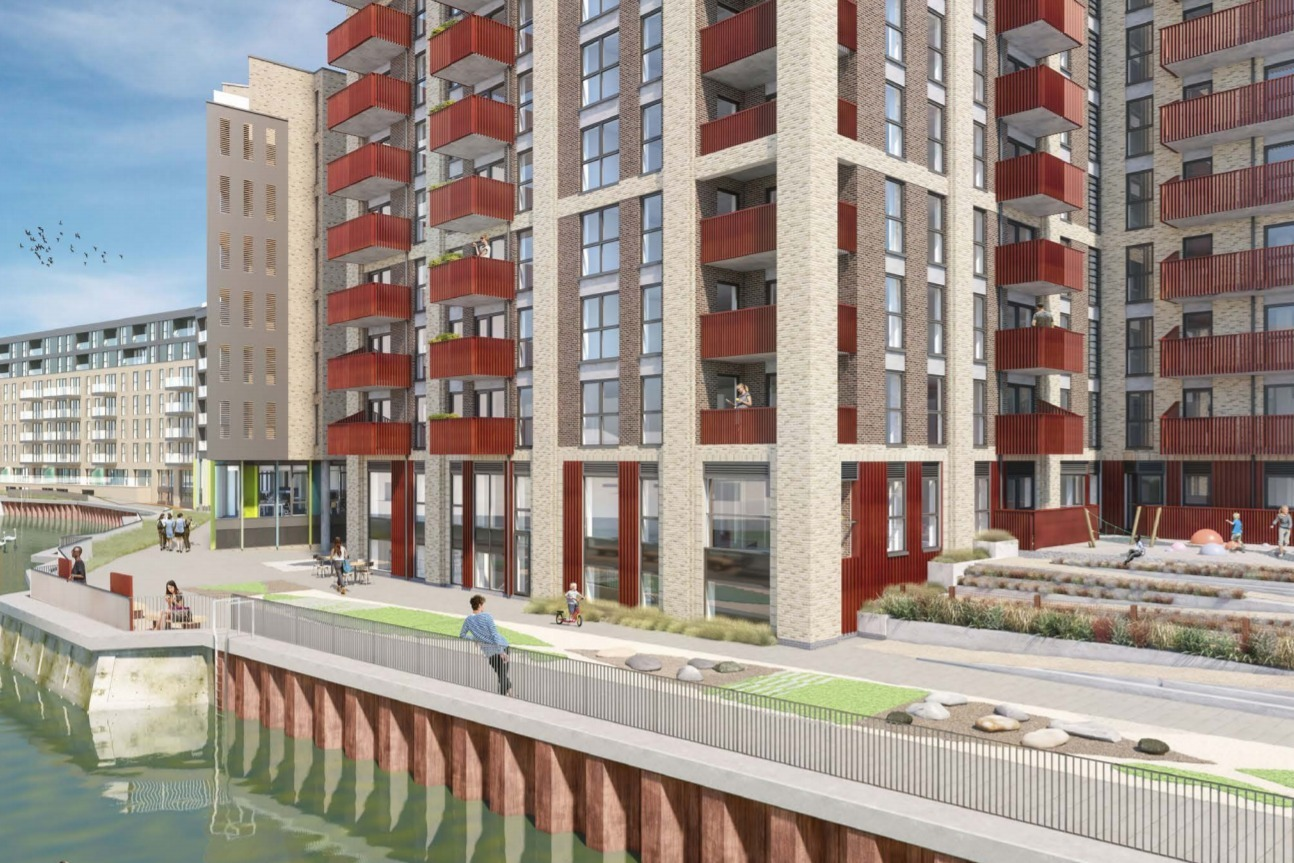 Another huge tower block overlooking Deptford Creek is set to be approved | This Is Local London