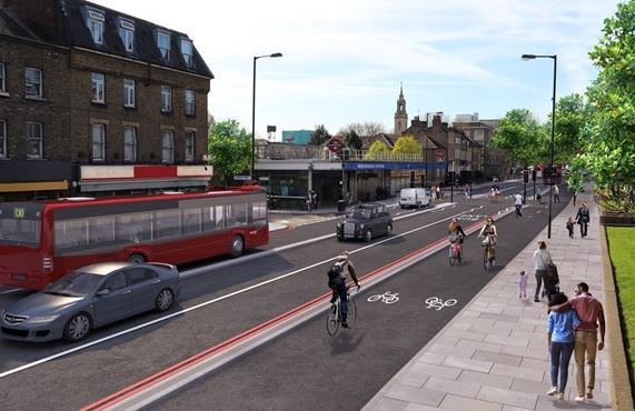 Work on the new Cycle Super Highway will start in Summer 2019