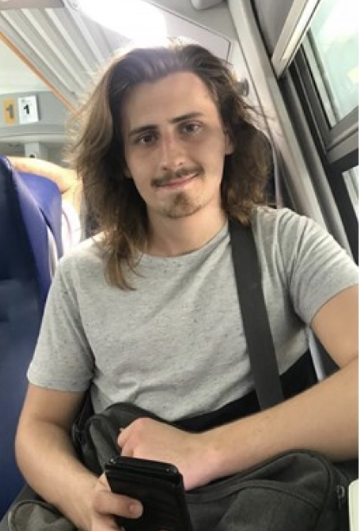 Louie Chapman-Ford, 20, will be shaving and donating his hair to charity in honour of his sister