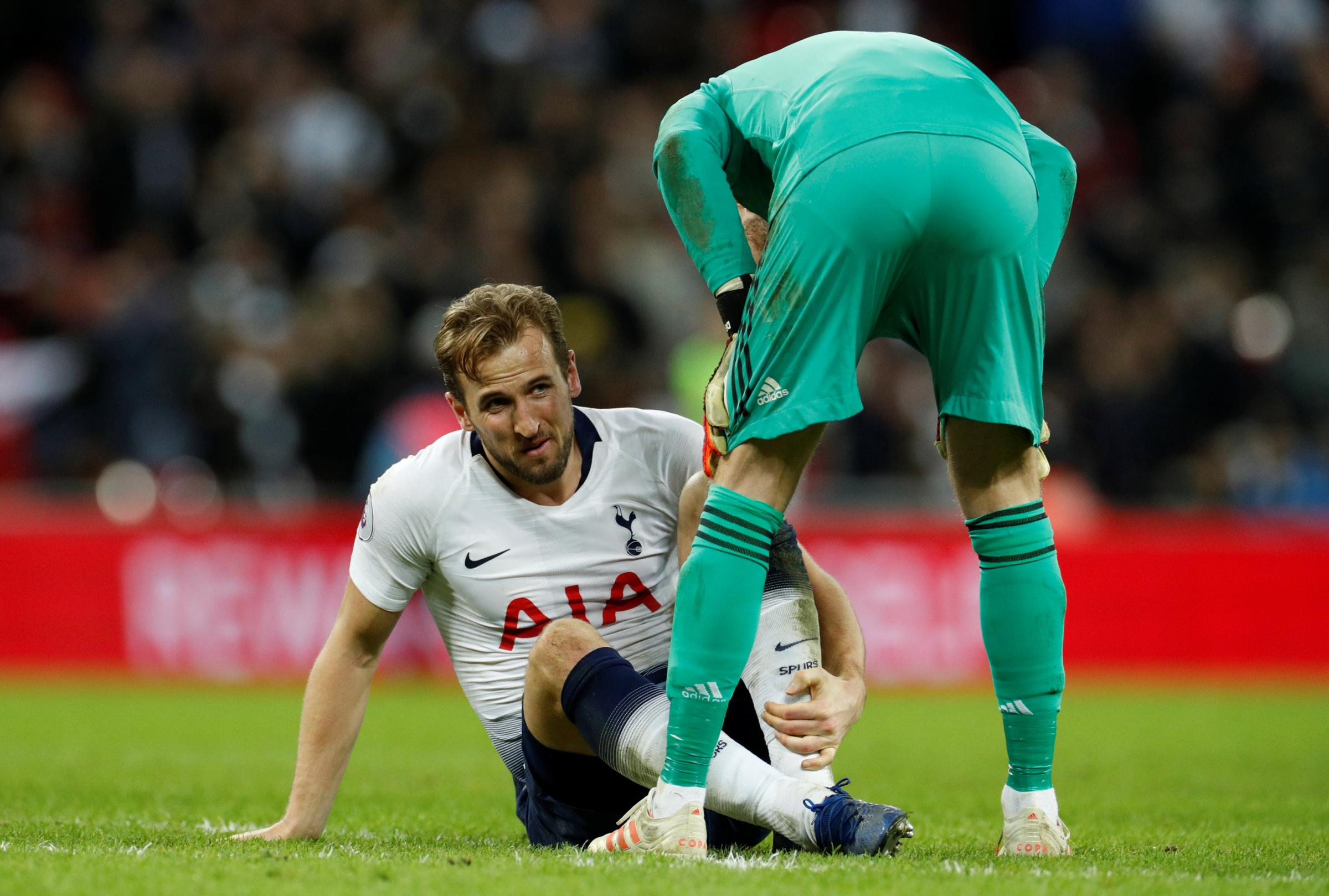 Harry Kane is out of action until at least early March. Picture: Action Images