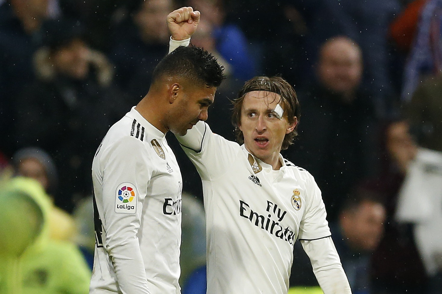 Luka Modric and Casemiro