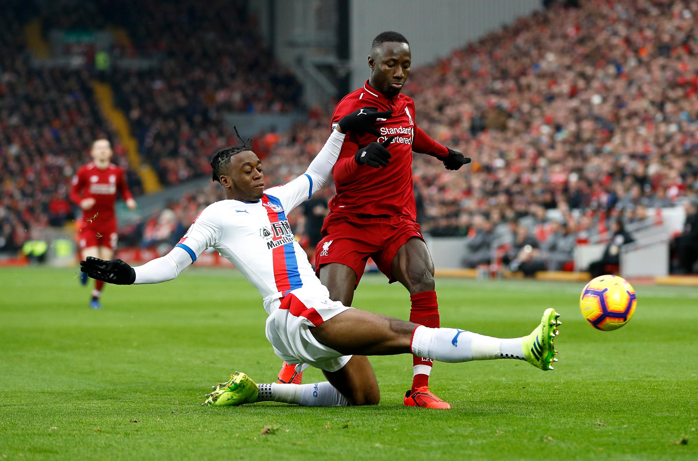 Crystal Palace's Aaron Wan-Bissaka  (Photo credit: Darren Staples/PA Wire)