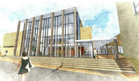 Plans for the school's new buildings