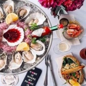 Oyster and Prosecco Deal