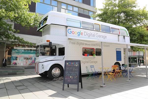 Google comes to Thamesmead