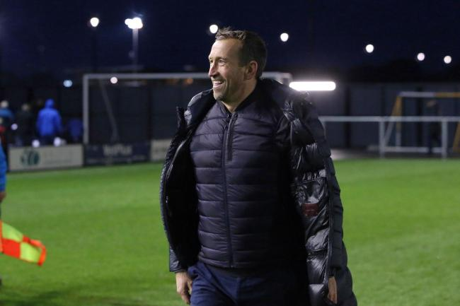 Justin Edinburgh after Leyton Orient's National League match away at AFC Fylde. Picture: Simon O'Connor