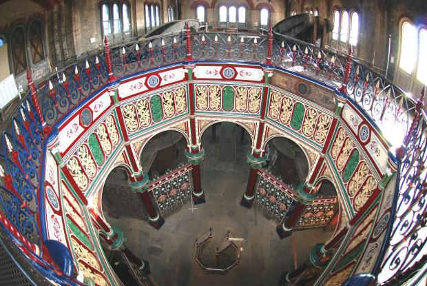This Is Local London: THe magnificent interior of the Crossness beam engine house