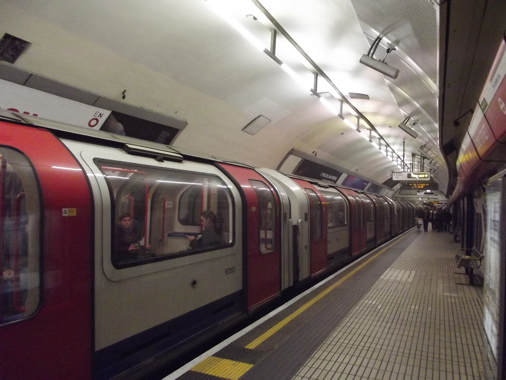 Traffic news: Central line delays and motor accident causing tailbacks