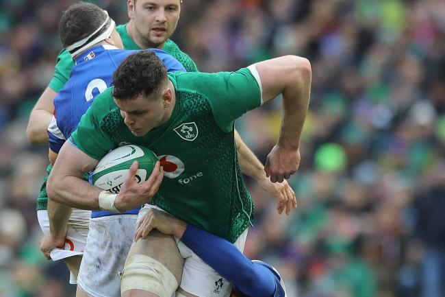 James Ryan has been lauded by his skipper Rory Best