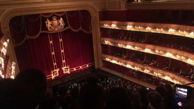 A trip to the Royal Opera House by Emily Lazell-Taylor, Swakeleys School for Girls