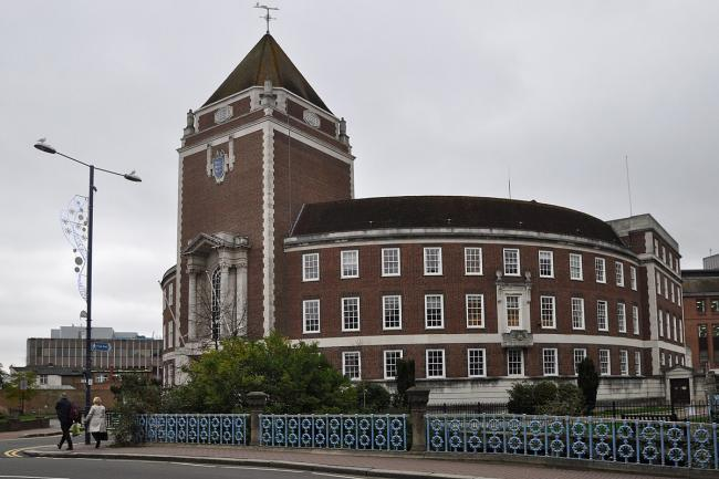 The Guildhall, meeting place for Councillors, Kingston