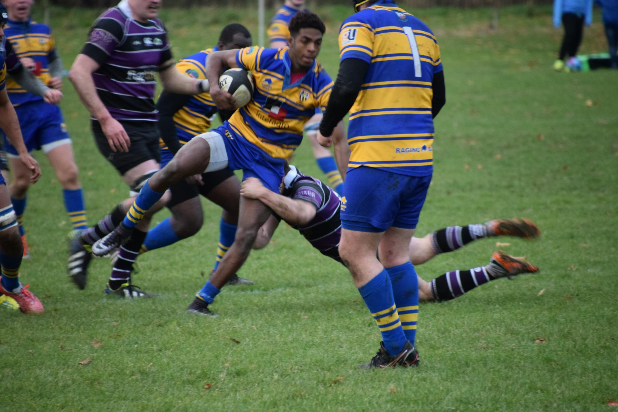 Cairo Sango shone for Hertforshire under-20s in their defeat to Lancashire.