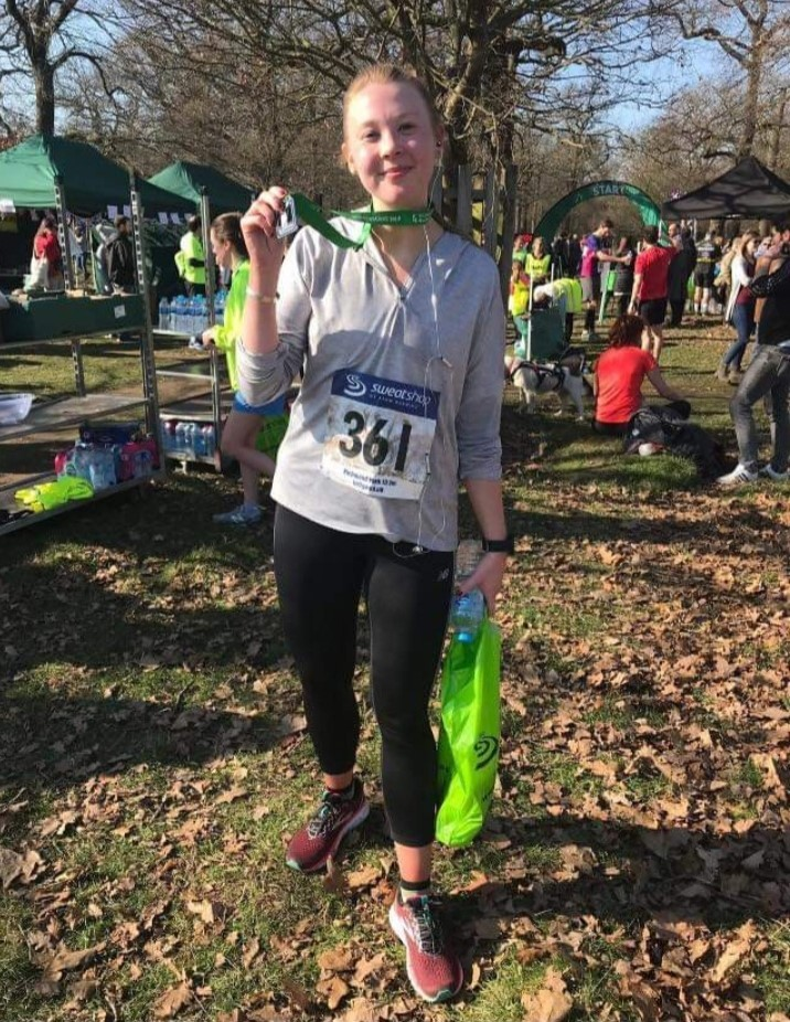 Claire Morris is hoping to complete her first London Marathon