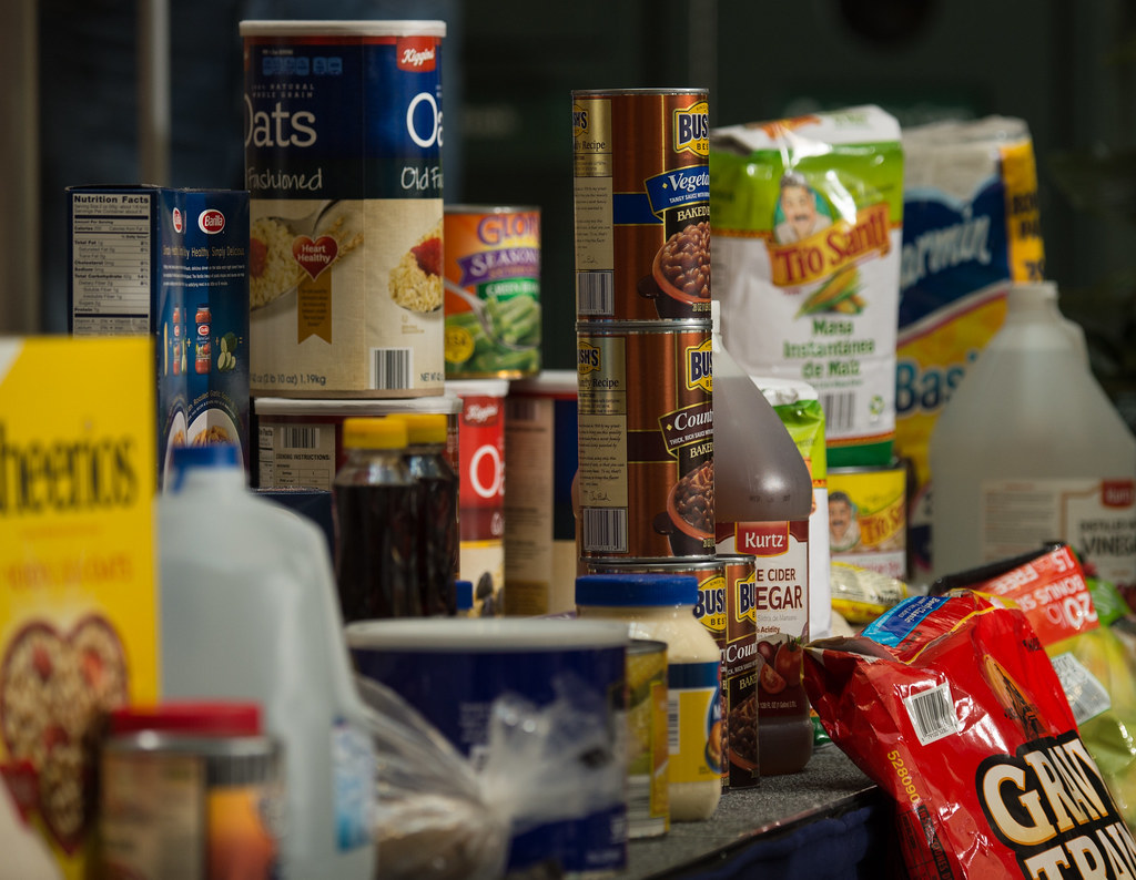 More than half of emergency food packages went to children